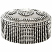 Alan Lee Princess Collection Oval Jewelry Box