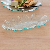 Annieglass Dune Small Oval Tray