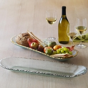 Annieglass Edgey Baguette Tray Gold