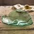Annieglass Leaves Large Palm Frond Bowl