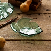 Annieglass Leaves Small Palm Frond Bowl