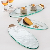 Annieglass Mod Medium Cheese Board Gold