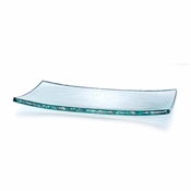 Annieglass Rectangular Small Slab Platinum