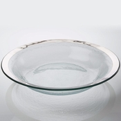 Annieglass Roman Antique Tossing Bowl Platinum