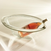 Annieglass Roman Antique Wine Cooler Platinum