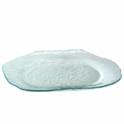 Annieglass Salt Oval Tray Large