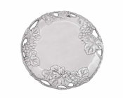 Arthur Court Grape 12 In Round Plate - CLOSEOUT