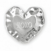"Beatriz Ball A Little Something heart engraved tray (""XOXO"")"