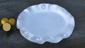 Beatriz Ball CERAMIC Medallion Olanes Large Oval Platter