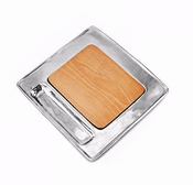 Beatriz Ball Cheese / Cutting Board Wood Soho Square Cracker
