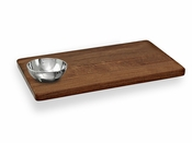 Beatriz Ball CUTTING BOARD rect w/rnd bowl - CLOSEOUT