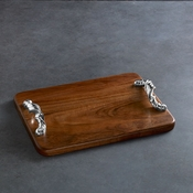 Beatriz Ball CUTTING BOARD Soho torza rect long dark