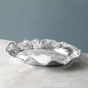 Sold Out - Beatriz Ball ORGANIC PEARL ovl deep platter (lg) - (Retired)