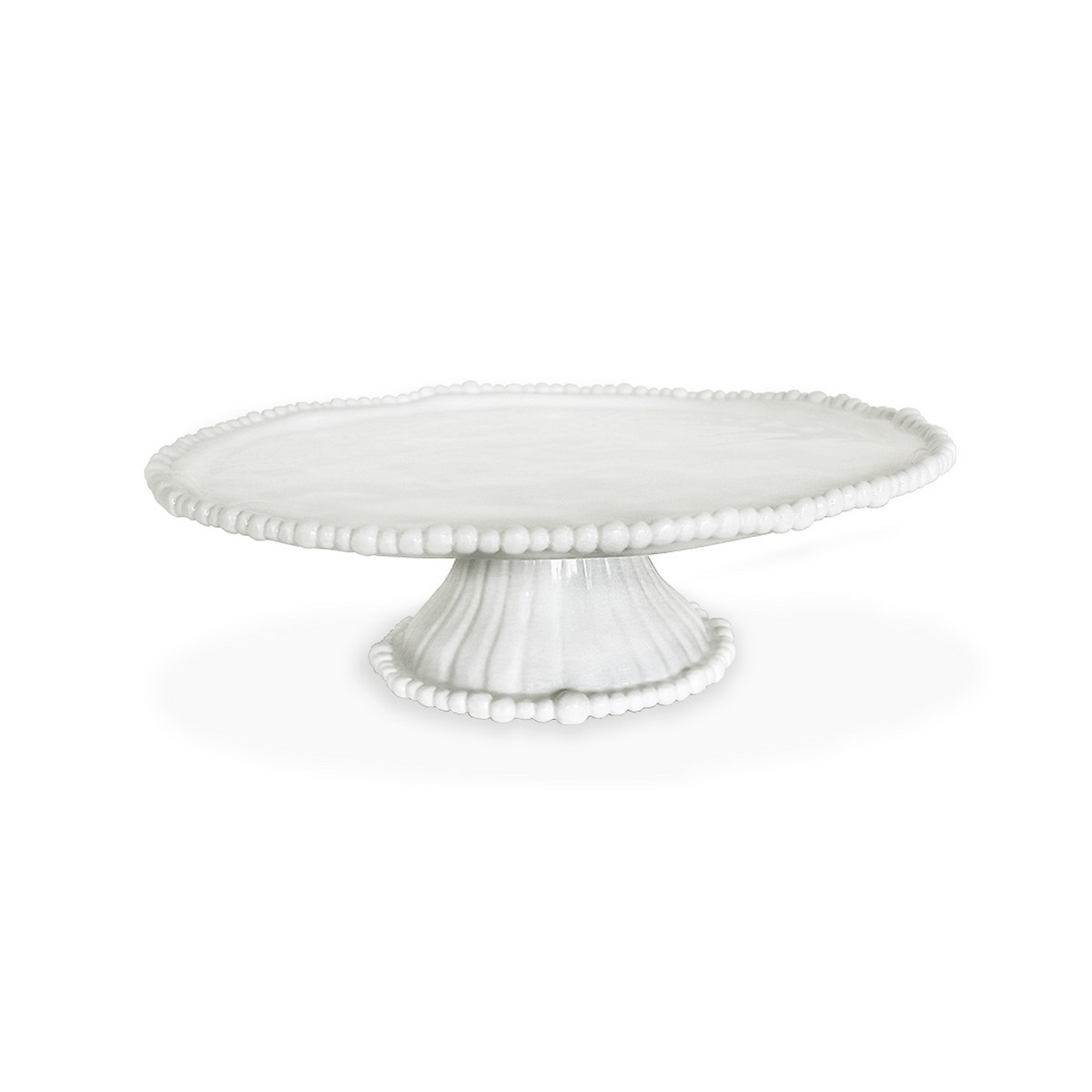 sc 1 st  The Addison Collection & Beatriz Ball Vida Alegria Pedestal Cake Plate White