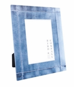 "Bird & Co. Denim 4""x 4"" Acrylic Frame - CLOSEOUT"