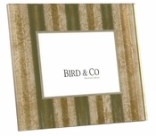 "Bird & Co. Gold Tin Roof 4""x4"" Acrylic Frame - CLOSEOUT"