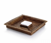 Calaisio Square Chip & Dip Tray with Pillivuyt Dip Dish