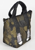 Camo Bag with Sneakers - CLOSEOUT