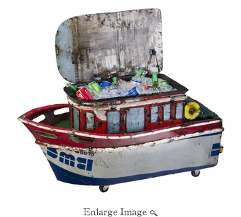 Castaway Fishing Boat Cooler