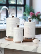 SOLD OUT - Mud Pie Circa Canister Set