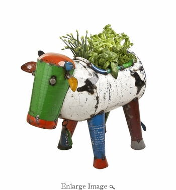 Clarence the Cow Planter Medium