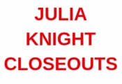 JULIA KNIGHT CLOSEOUTS
