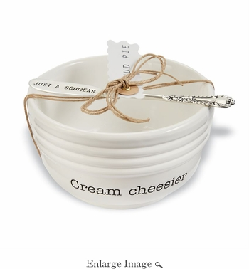 Cream Cheese Serving Set