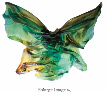 Daum Crystal Hanae Mori Butterfly Soliflore - Limited Edition of 75