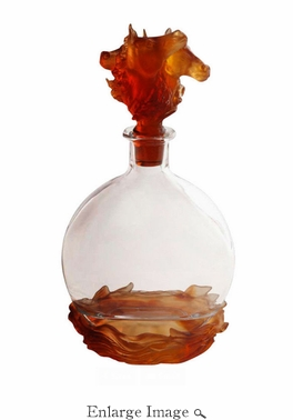 Daum Crystal Horse Millesime Decanter