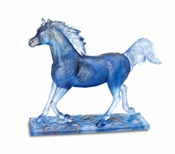 Daum Crystal Le Majestueux Blue Grey - Limited Edition of 50
