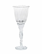 Daum Crystal Louis XV White Wine Glass