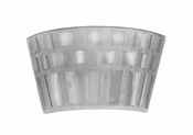Daum Crystal Rhythms Wall Lamp - Light Grey