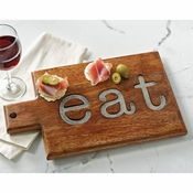 Mud Pie Eat Cutting Board - CLOSEOUT