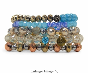 Erimish Jungle Bracelet Stack - CLOSEOUT