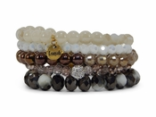 SOLD OUT Erimish Bracelet Pearl-Jar Set  Bracelet Stack
