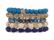 Erimish Bracelet Set Endless Bracelet Stack