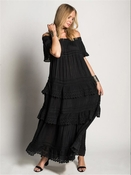 Muche et Muchette Esmeralda Long Dress Black