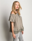 Esmeralda Top Grey