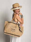 Frenchie Jute Tote