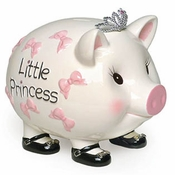 SOLD OUT - Mud Pie Giant Princess Bank - Shipping May