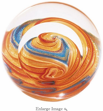 Glass Eye Art Glass Celestial Jupiter