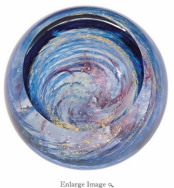 Glass Eye Art Glass Celestial Milky Way