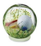 Glass Eye Art Glass Large Sand Trap Globe