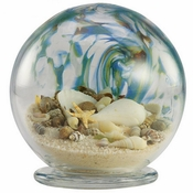 Glass Eye Art Glass Sea Globe Large Abalone
