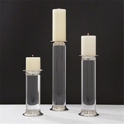 Global Views Acrylic CandleHolder-Small