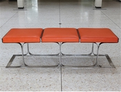 Global Views Airline Bench-Orange