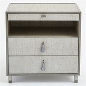 Global Views Argento Bedside Chest