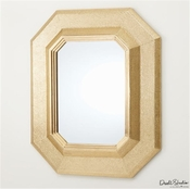 Global Views Ascher Mirror-Brass