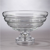 Global Views Belted Footed Fruit Bowl