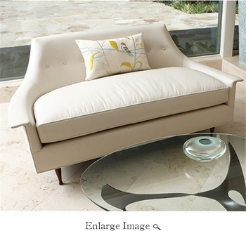 Global Views Brigitte Loveseat